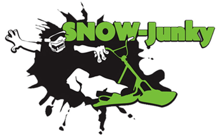 snow junky logo design immedia creative ltd
