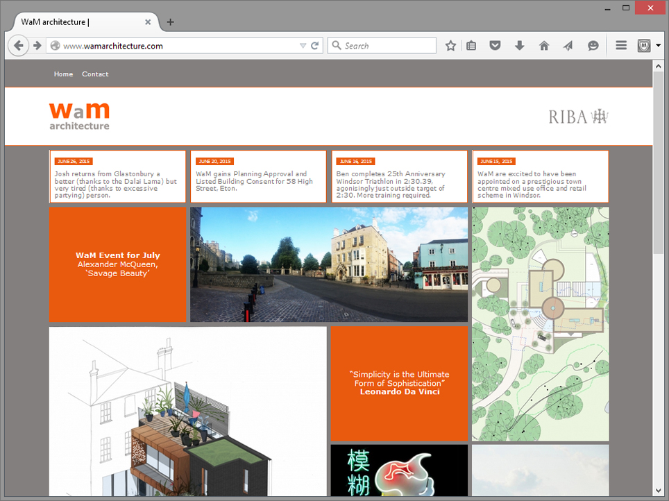 Willcox meilwes architects immedia creative ltd for Architectural websites