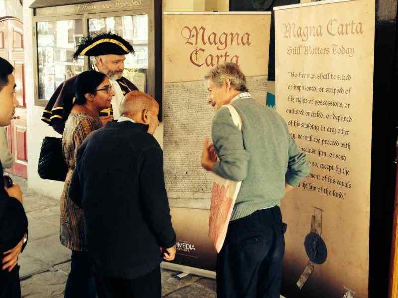 Magna Carta Banner Stands