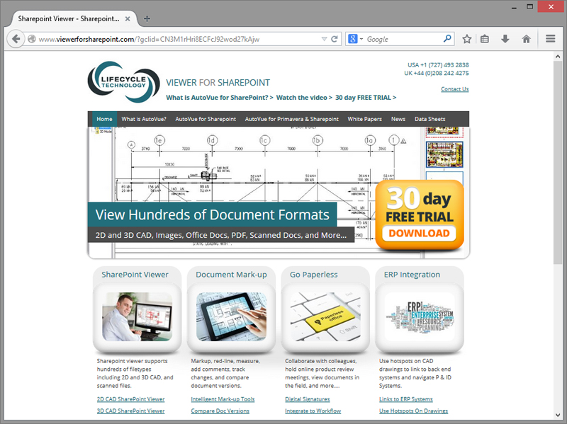 Viewerforsharepoint Website Design