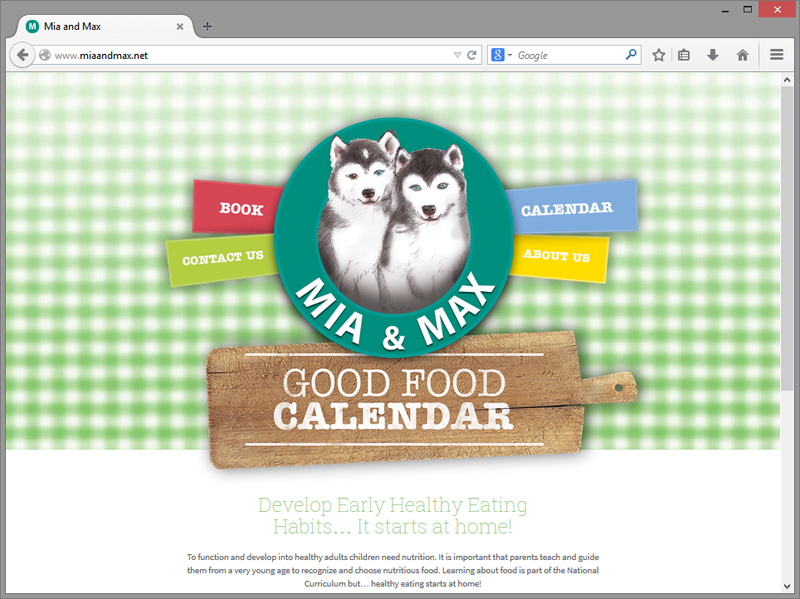 Mia and Max Website Design