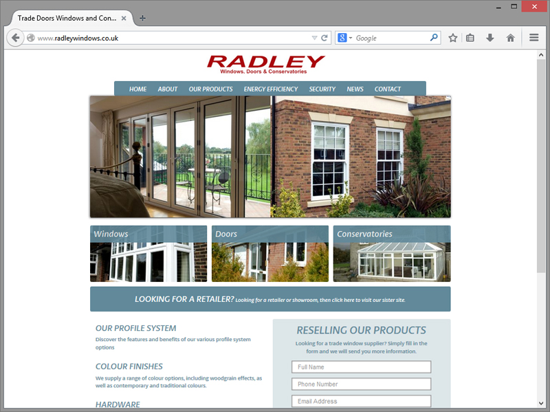 Radley Website Design