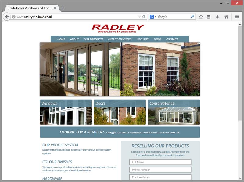 Radley Website Design
