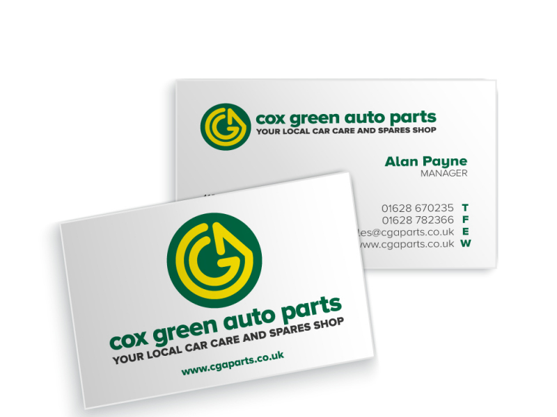 Cox Green Auto Business Card