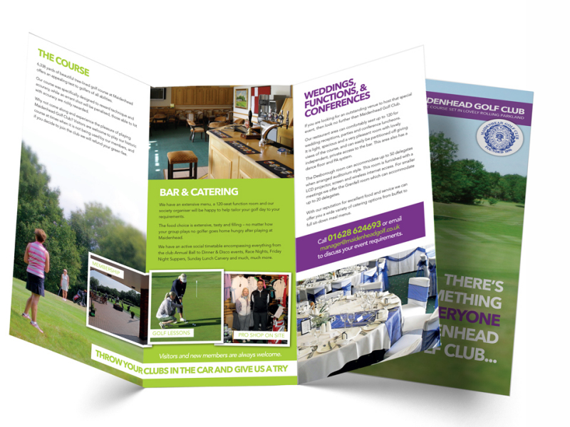 Maidenhead Golf Club DL Leaflet