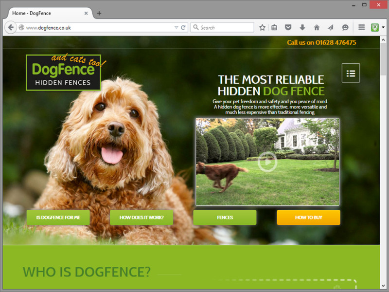 Dogfence Website