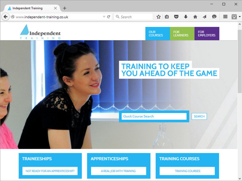 Independent Training Website