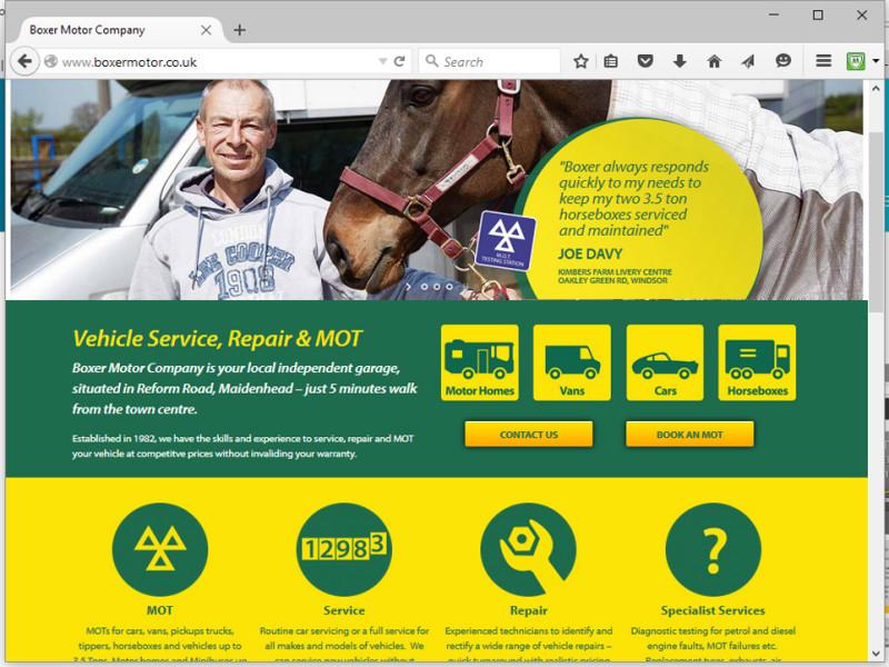 Boxer Motor Company Website