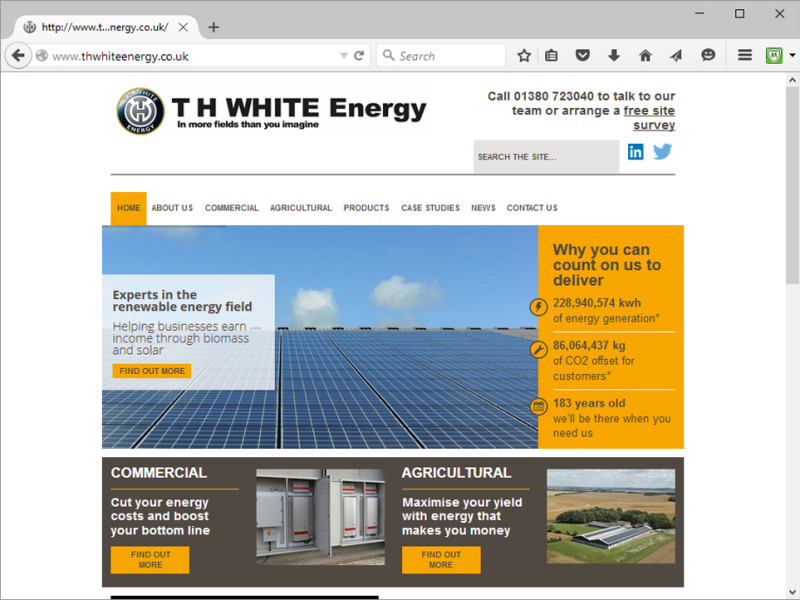 TH White Energy Website