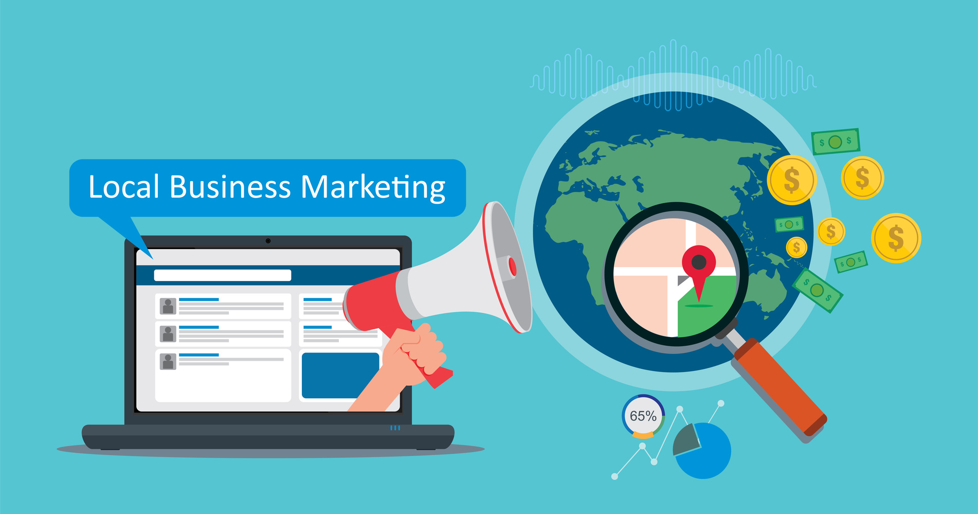Reach local UK business with digital marketing