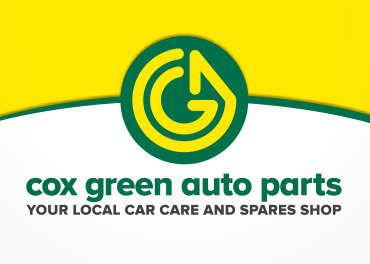 Cox green auto parts Logo Design