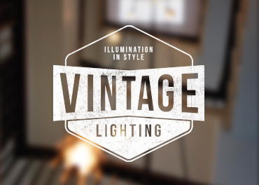 Vintage Lighting Logo Design
