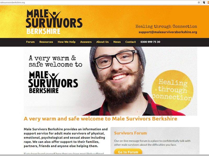 Male Survivors Berkshire Website